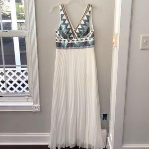 Xscape Aztec Sequin Prom Dress
